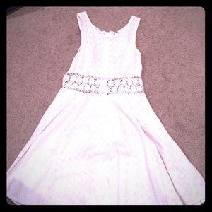 Free people classic :fitted with daisies dress.